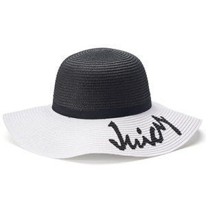 Juicy Couture Two-Tone Floppy Hat